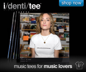 i/denti/tee – music tees for music lovers
